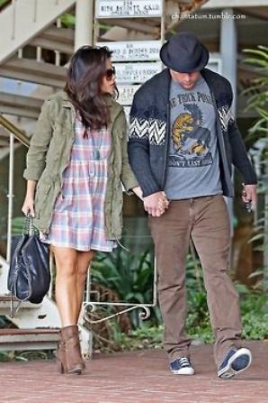 06/02/13 Channing et sa femme (jenna) dans les rues de la new orléans