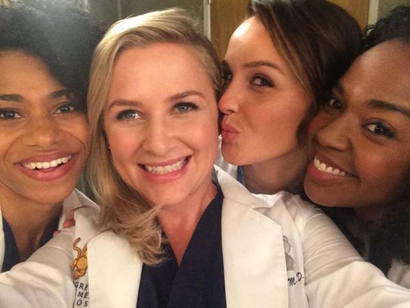 Photos de tournage Grey's Anatomy...