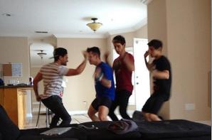 17/09/2013 - Photos des garçons, Los Angeles