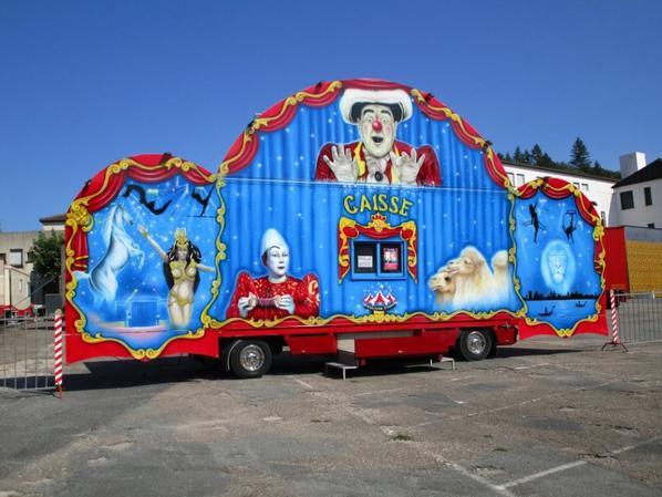 Cirque FRATELLI, la caisse !!!