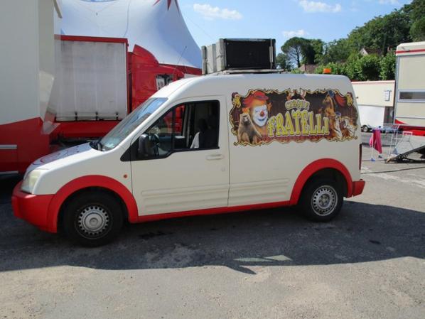 Cirque Fratelli , La publicitée !!!