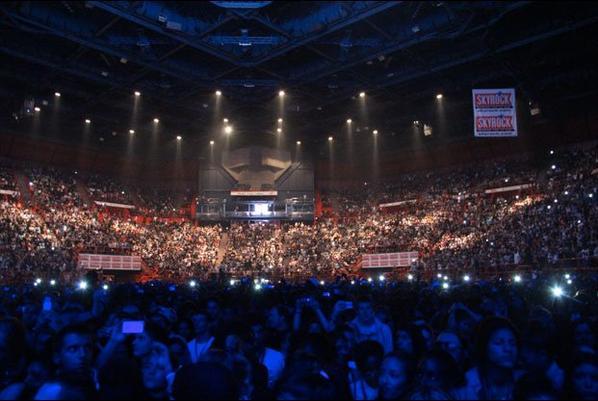 Chris Brown à Bercy avec Skyrock!