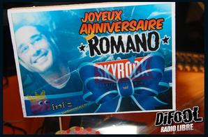 JOYEUX ANNIVERSAIRE ROMANO
