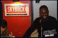 Thomas Ngijol avec les membres de la Radio Libre de Difool !