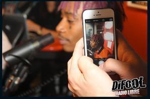 Les photos de Wiz Khalifa avec les membres de la Radio Libre