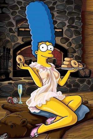 Voici les photos sexy des Simpson..