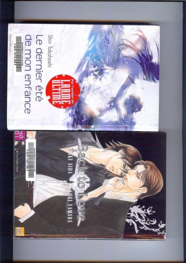 Les mangas et BD