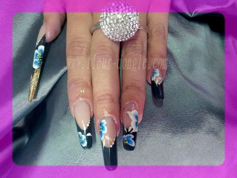 poses d' ongles