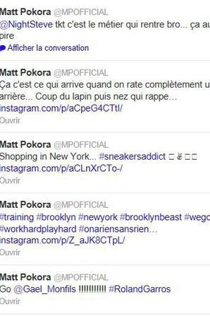 Twitter M Pokora à NYC