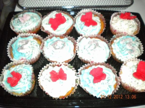 cup cake nouvel an