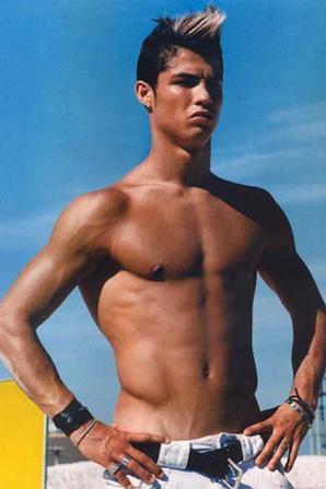 Ronaldo en mode playboy !