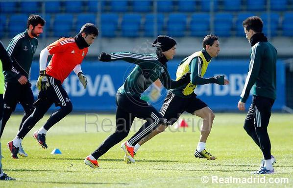 Entrainement Real Madrid ( 02/04/2013 )