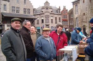 visite au marche de lier + visite Natural 2006