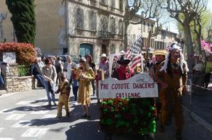 PARTICIPATION DES COYOTES DANCER AU CARNAVAL DE CARCES