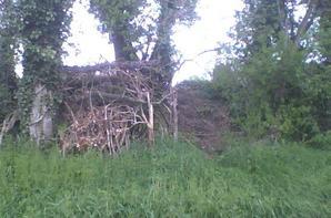 les caches de notre terrain