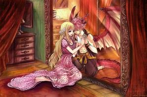 Image Fairy Tail Lucy & Natsu ♥