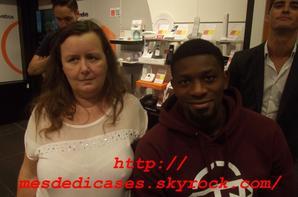 Photo avec Abou Dialy