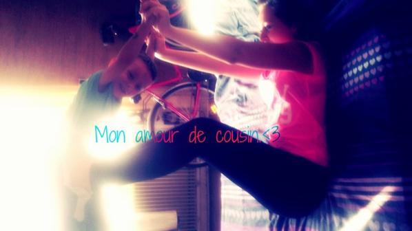 #MonAmour²Cousin! <3