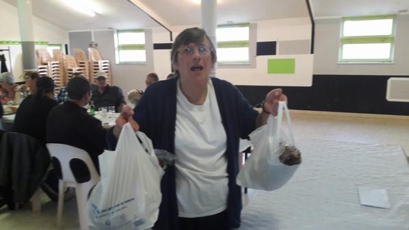 Ginette et ses jambons
