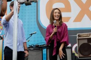 Maggie Q bat cascadeur COMIC-CON 2012