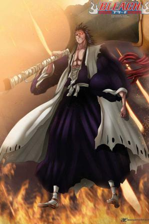 le bankay de zaraki et la vrai forme de combats ichigo + 2 autre image qui j'aime bien ^^