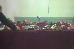 Mon étale au marché des créateurs et vide grenier à St Verand 38160