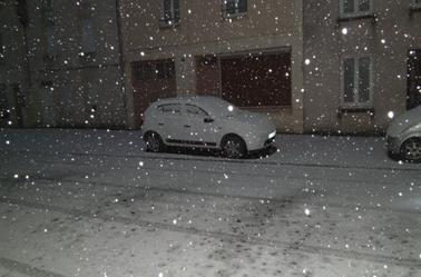 réveille sous la neige