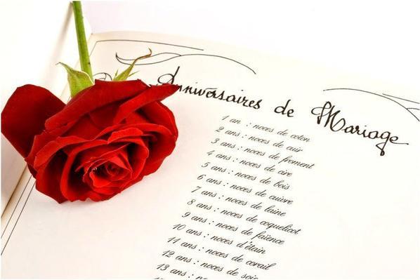 Tres Bon Anniversaire De Mariage A Mes Amis Carine Et Jean