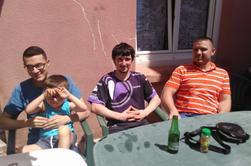 Petit repas en famille
