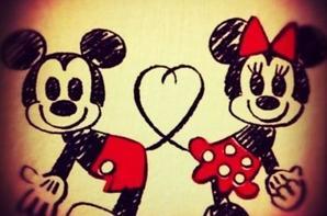 Le seul couple qui n'à jamais eu de dispute c'est bien mickey et minie .