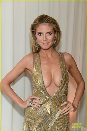Jennifer Lawrence,Heidi Klum.... Les side boobs des stars