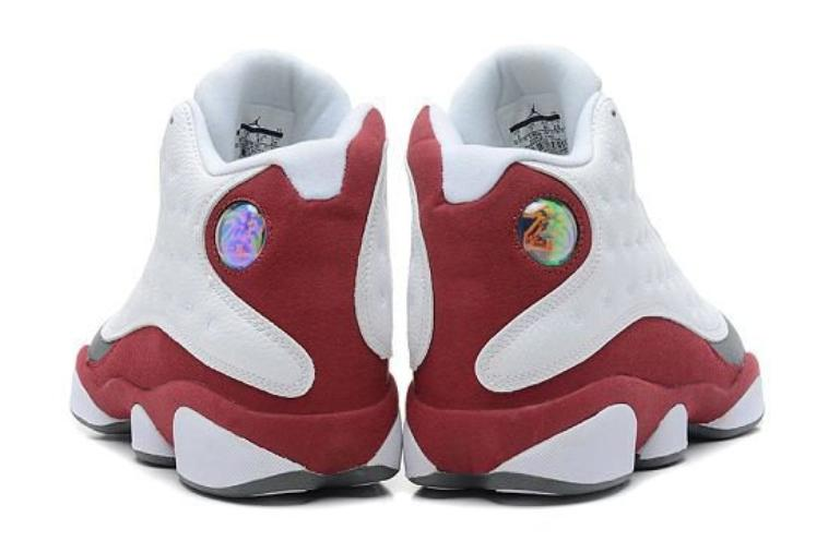 save off b127a 46f2b Air Jordan 13 Retro White   Team Red