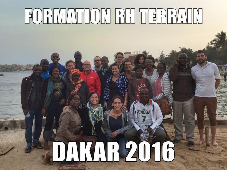 Formation RH Projet à Dakar, Sénégal Mai 2016