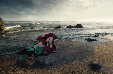 Quand les personnages de Disney font face aux horreurs de la réalité froide.