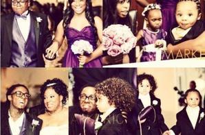 Lil Wayne : Les photos du mariage de sa mère !