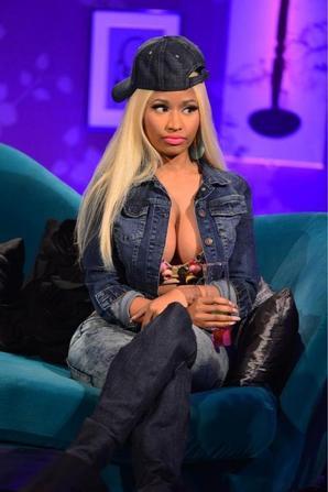 Nicki Minaj chez Alan Carr Chatty Man