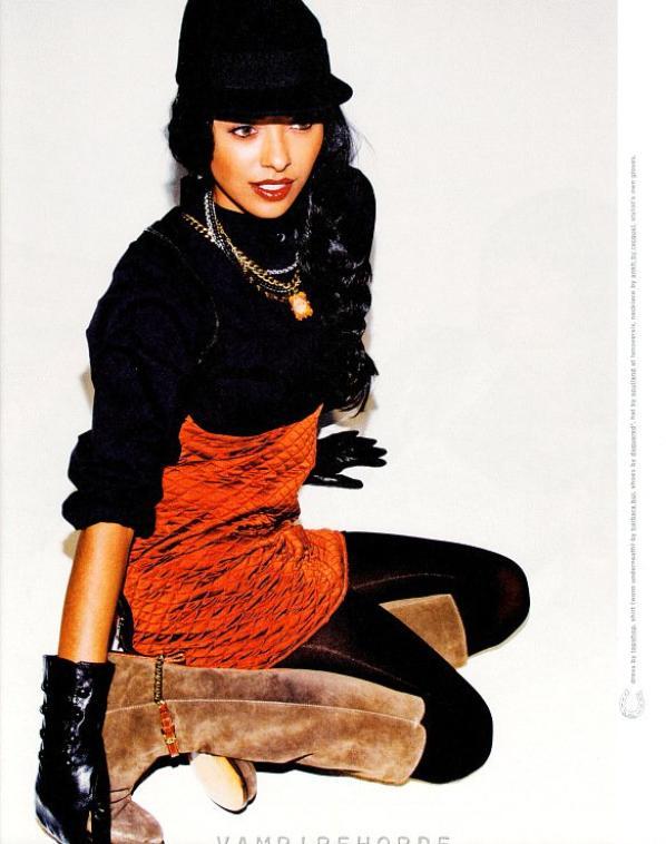 Kat Graham pour Nylon Magazine (September)