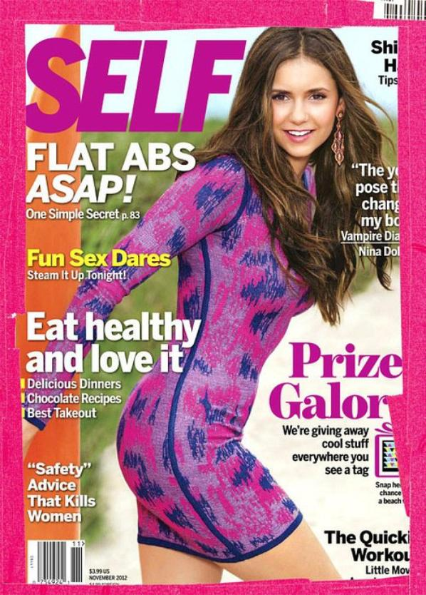 Aperçu de la couverture de Self Magazine Novembre 2012