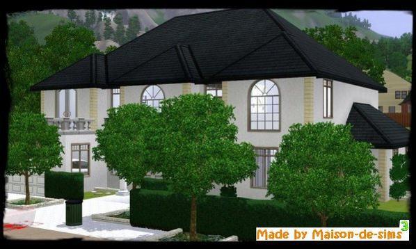 Blog de maison de sims3 les maisons modernes de sims3 for Maison moderne 250m2