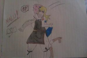 Fairy tail NaLu-en-force!! <3