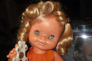 Et voici ma petite Cincia que je vous ais présenté hier ; je l'ais prénommée Nenita