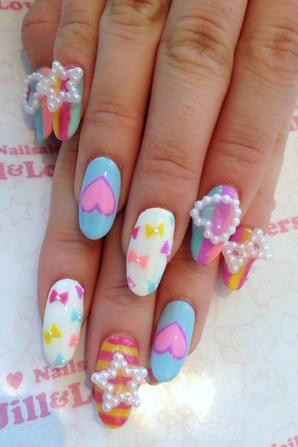 Nail Art, des ongles vraiment mignons ! #8