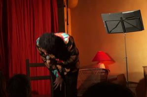 C'était hier à l'Atelier du Verbe : Jann Halexander in 'Afrikan Kabaret'