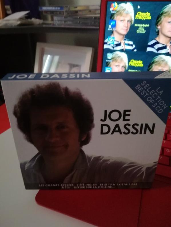 Joe Dassin la sélection best of 3 cd NOUVELLE VERSION 2019