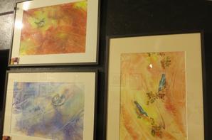 Derniers jours de notre exposition- encore quelques photos de l'exposition