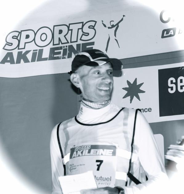 David REGY  champion de France de grand fond 24 heures marche 2013