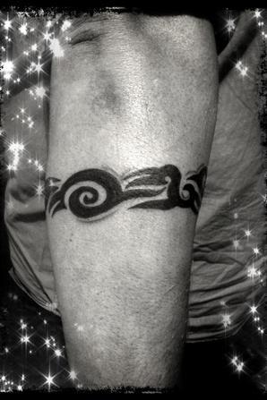 Bracelet Tribal Avant Bras Pour Recouvrement Julynk Tattoo
