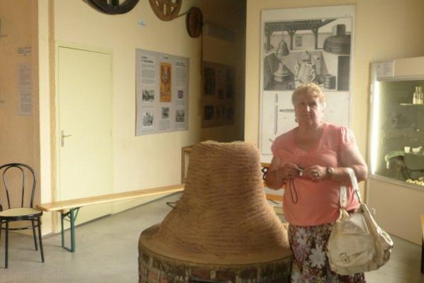 photo prise au musée Paccard à Annecy
