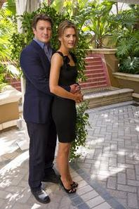 Nathan Fillion et Stana Katic