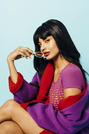"""""""I will not be a double agent for the patriarchy. And I will not stop calling it out when I see it..."""" -Jameela Jamil"""